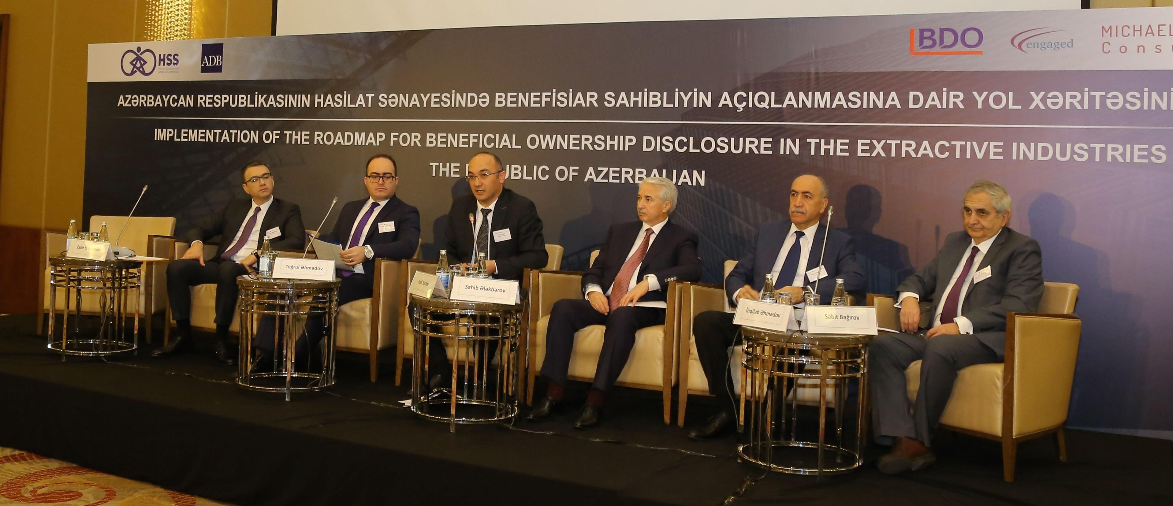 Public consultation on beneficial ownership disclosure in the extractive industries in Azerbaijan has been organized in Baku